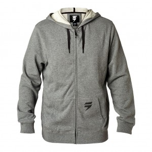 3LUE LABEL ZIP FLEECE