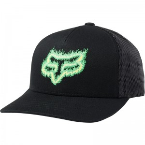 YOUTH FLAME HEAD SNAPBACK HAT