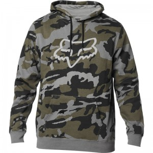 LEGACY FOX HEAD CAMO PULLOVER FLEECE