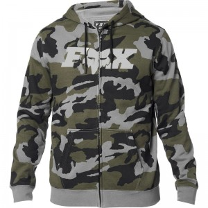 LEGACY FOX HEAD CAMO ZIP FLEECE