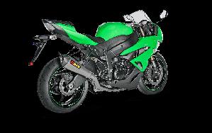 Kawasaki Ninja ZX-6R 636 2016 Evolution Line (Titanium)