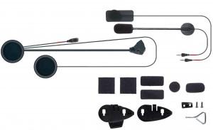 Kit de Audio completo com microfone
