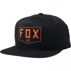 FOX SHIELD SNAPBACK HAT
