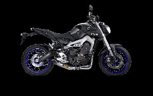 Yamaha MT-09/FZ-09/Tracer 2016 Racing Line (Titanium)