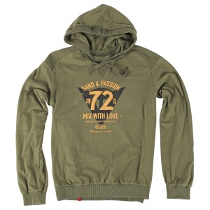 SWEAT COM CAPUZ DAINESE SAND&PASSION 72