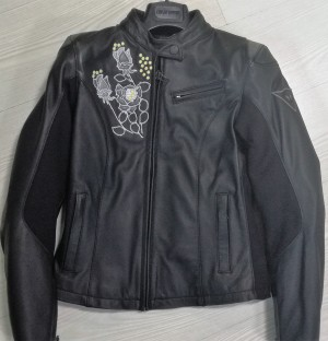 FLOREAL LADY LEATHER JACKET
