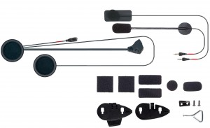 Kit de Audio completo com microfone