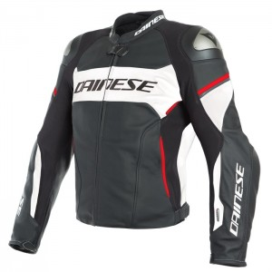 RACING 3 D-AIR LEATHER JACKET